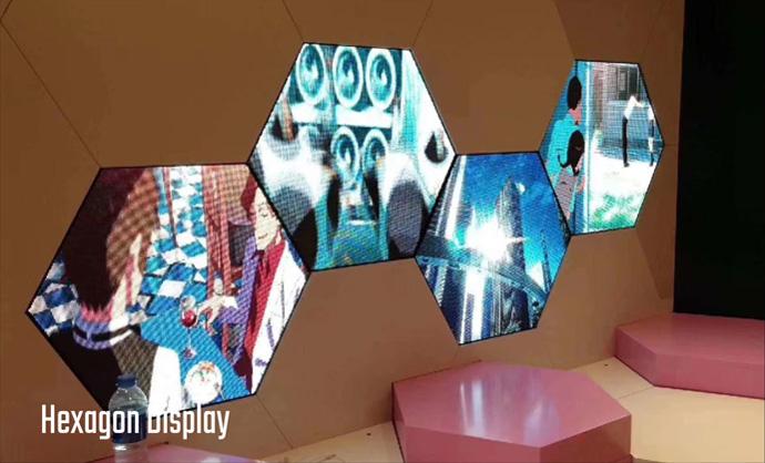 Hexagon Display