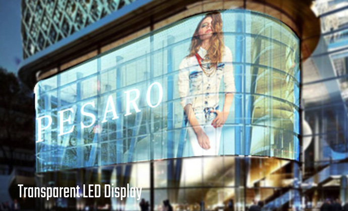 Transprant LED Display