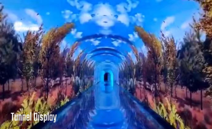 Tunnel Display