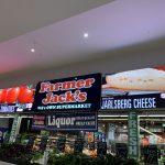 Image showing Farmer Jack's LED display