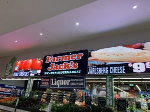 Farmer Jack's supermarket